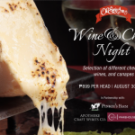 Wine & Cheese Night at the Old Swiss Inn